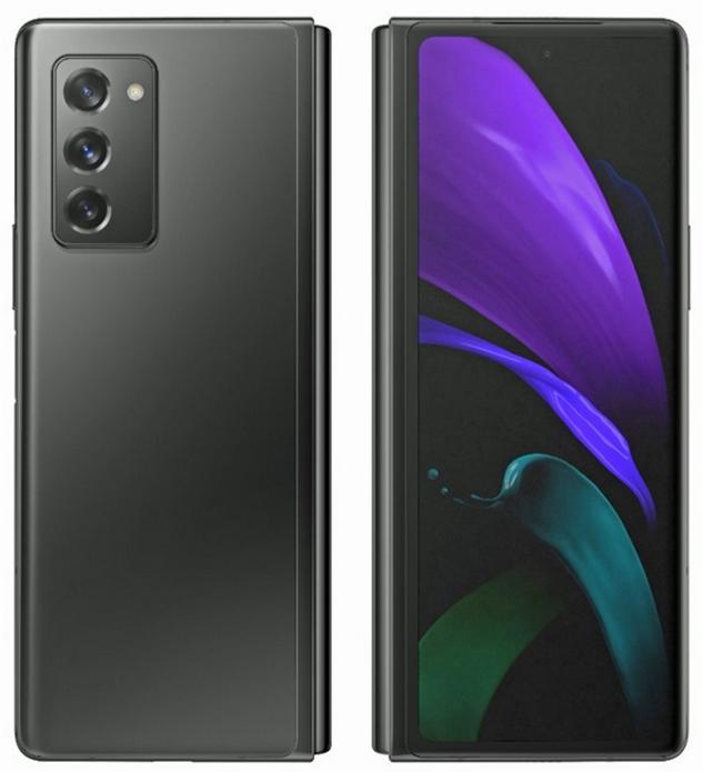 Samsung Galaxy Z Fold 2 preto