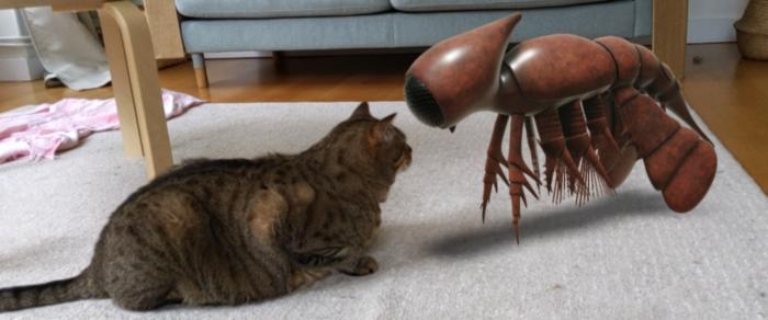 google 3d realidade aumentada animais pre historicos