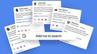 Google lança cartões de visitas para você aparecer nas buscas