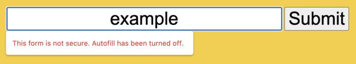 google chrome 86 alerta sobre formulários inseguros