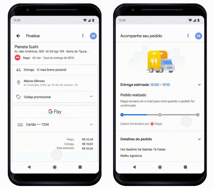 Google e Rappi