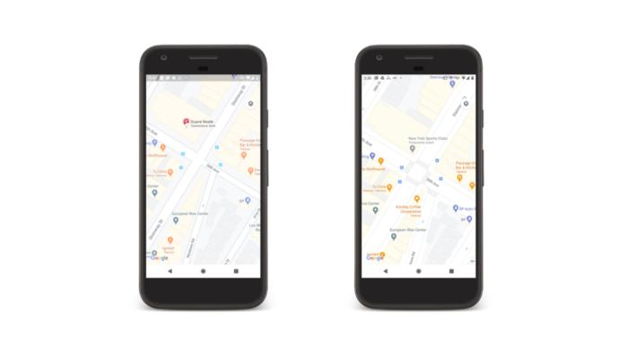 google maps tem novo mapa com ruas detalhadas