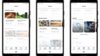 Google Maps ganha atualização que torna guia Salvo mais útil