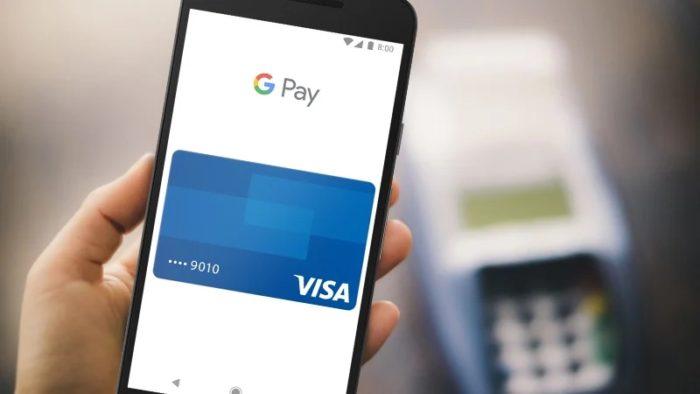 Google Pay (imagem: Visa)
