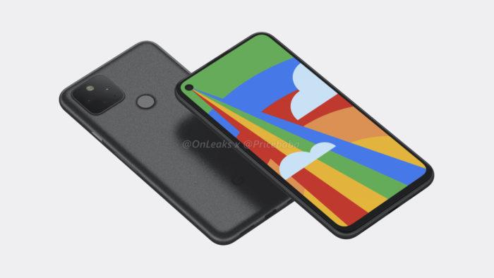 Possível Google Pixel 5 (Foto: Reprodução/OnLeaks/Pricebaba)