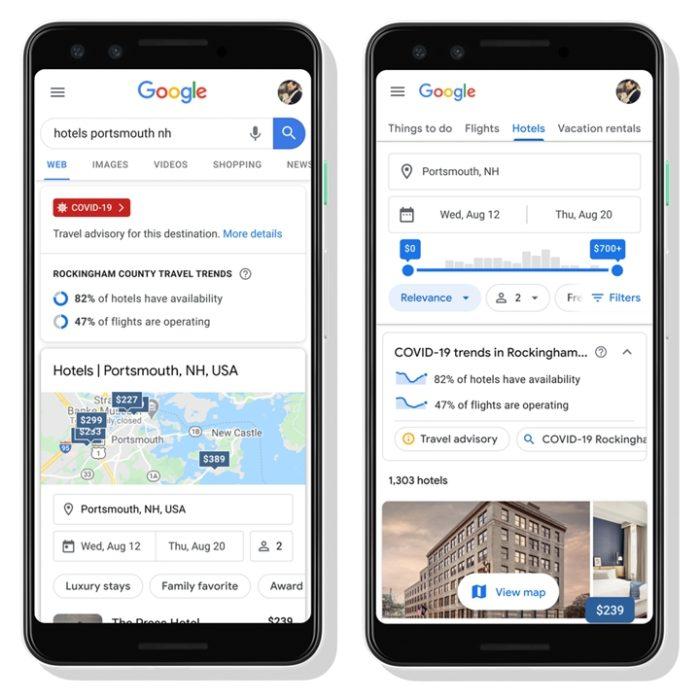 Google Viagens