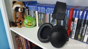 HyperX Cloud Alpha S Blackout Edition - Áudio de qualidade para games