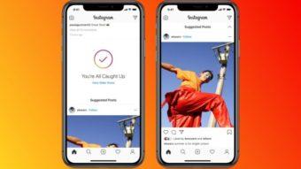 Instagram agora exibe posts sugeridos no final do feed