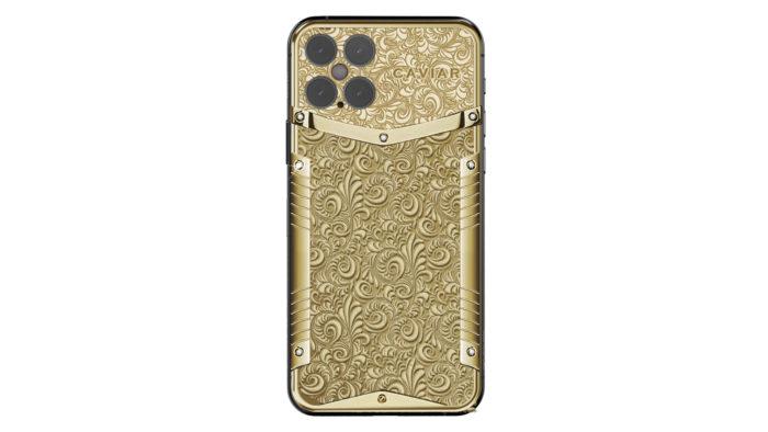 iPhone 12 Pro terá versão não-oficial de ouro (Foto: Divulgação/Caviar)