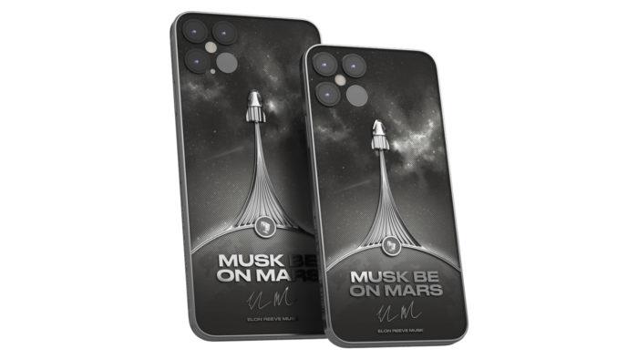 iPhone 12 Pro terá versão não-oficial da SpaceX feita pela Caviar (Foto: Divulgação/Caviar)