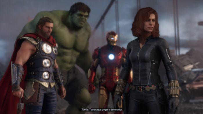 Marvel's Avengers / Reprodução / Felipe Vinha