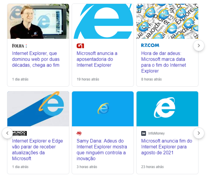 Internet Explorer 11 chega ao fim