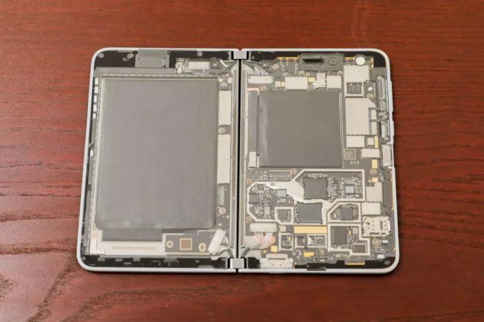 microsoft surface duo pelado frente