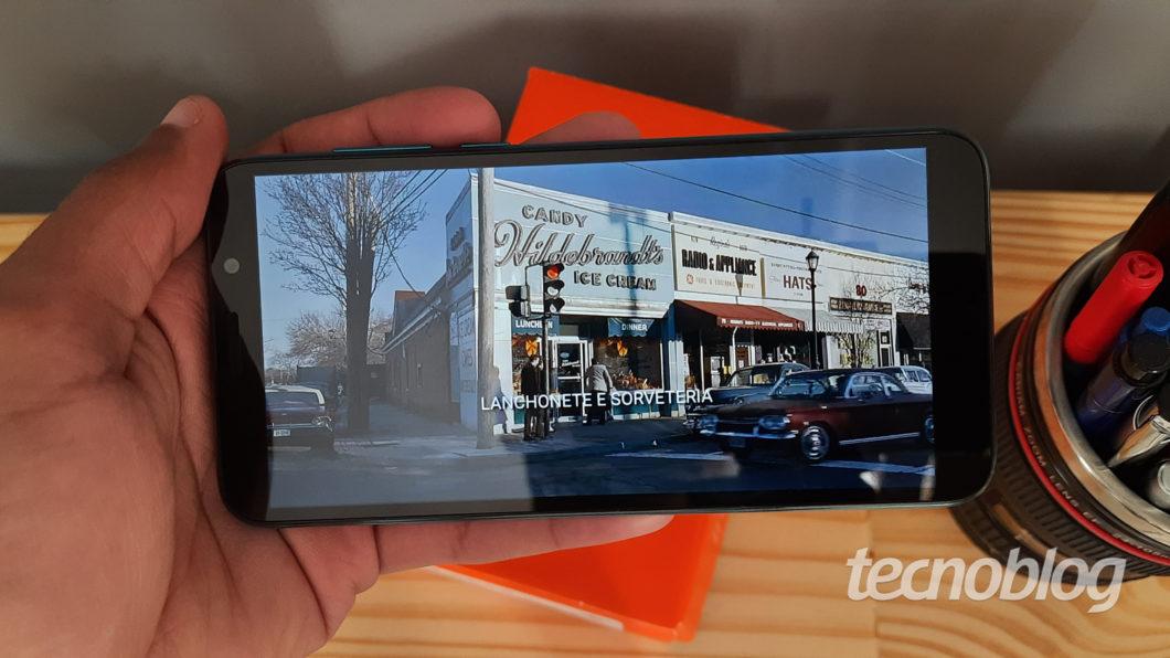 Moto E6 Play screen