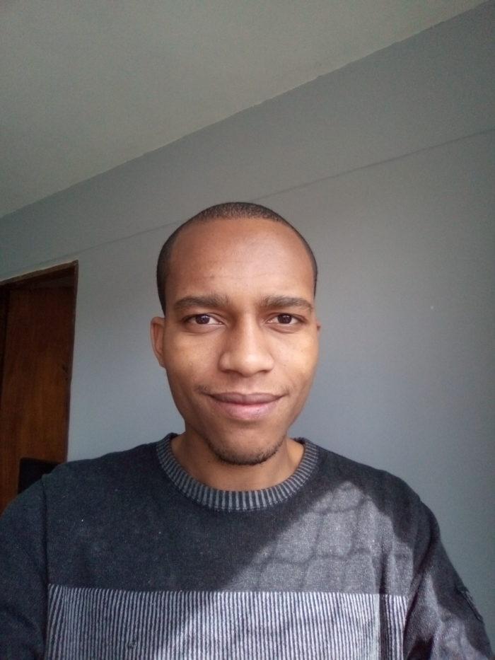 Selfie tirada com o Moto E6 Play