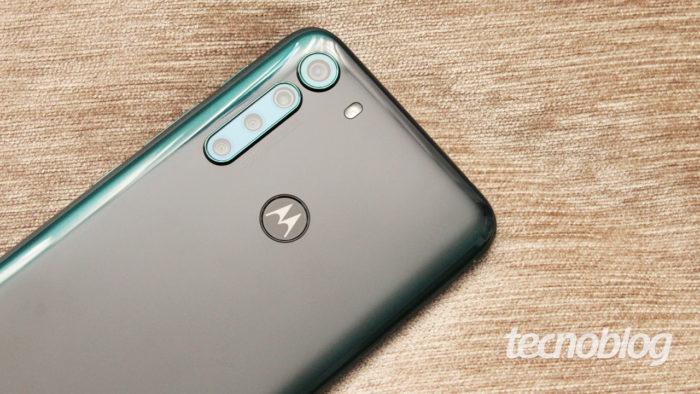 Motorola One Fusion (Imagem: Emerson Alecrim/Tecnoblog)