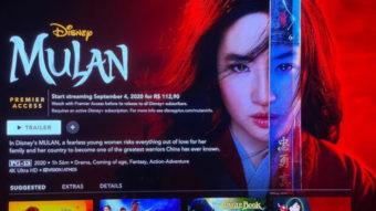 Disney+ pode vender Mulan por R$ 112,90 exigindo assinatura