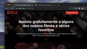 Netflix libera alguns filmes e séries de graça para quem não é assinante