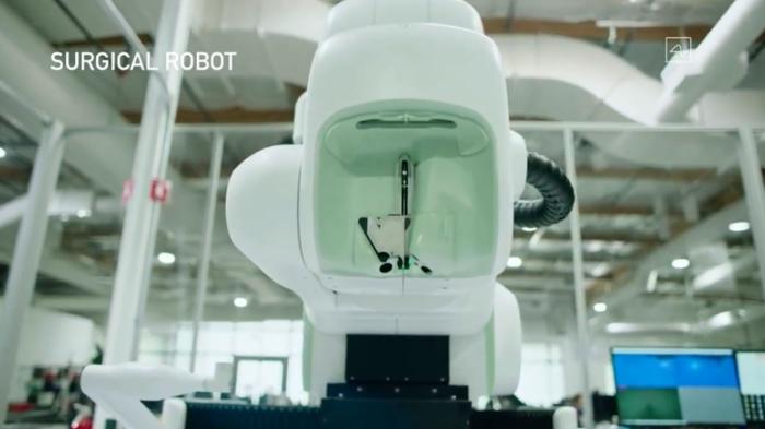 robô cirurgião neuralink
