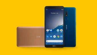 Nokia C3 é celular baratinho com Android 10 e até 3 GB de RAM