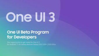 Samsung lança beta da One UI 3.0 para Galaxy S20