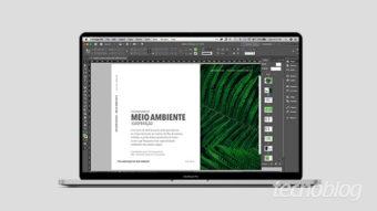 Como criar página mestre no InDesign
