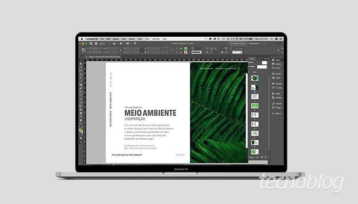 Como criar página mestre InDesign