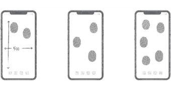 Patente da Huawei prevê leitor de digitais em toda a tela