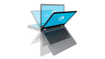 Positivo Duo C464C é notebook 2-em-1 com tecla Netflix