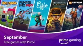 Autonauts e mais jogos grátis de setembro no Prime Gaming
