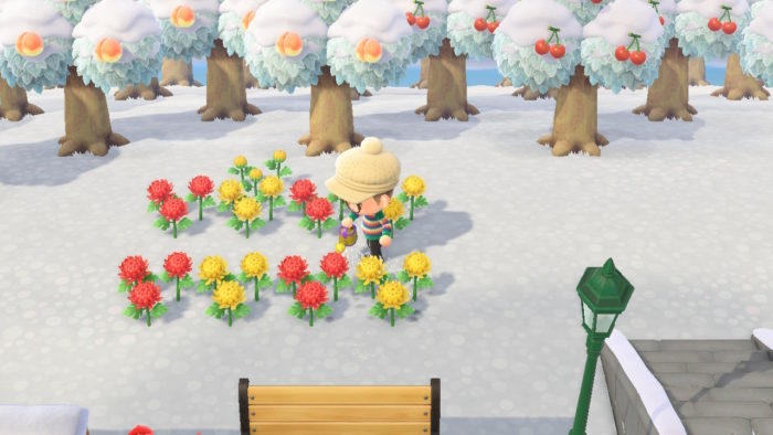 regar flores animal crossing new horizons