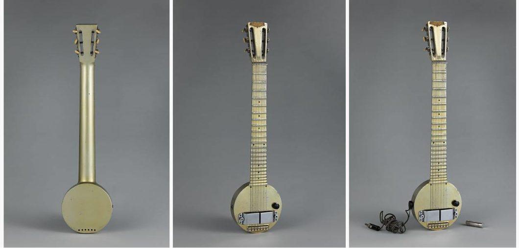 Rickenbacker Model A-22 Electro Hawaiian guitar / Imagem: metmuseum.org