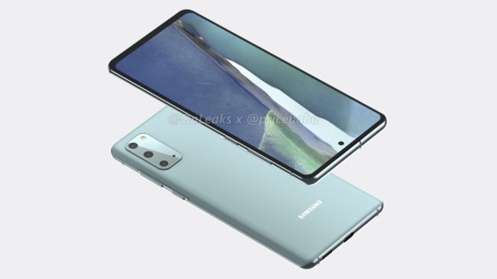 Renderização do Samsung Galaxy (Foto: Reprodução/OnLeaks/Pricebaba)