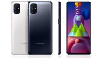 Samsung lança Galaxy M51 com bateria de 7.000 mAh e 64 MP