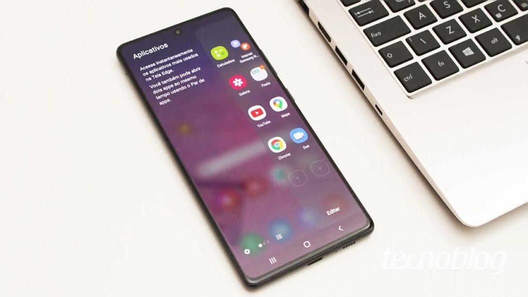 Samsung Galaxy S10 Lite - Edge Screen
