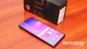 Samsung Galaxy S10 Lite: quase topo de linha