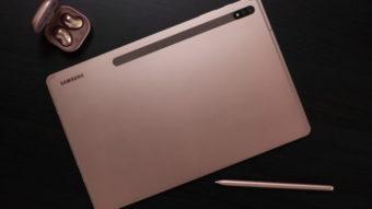 Galaxy Tab S7 e S7+ trazem tela de 120 Hz e S Pen com menor latência