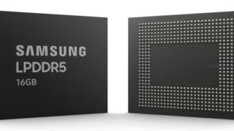 Samsung fabrica novos chips para RAM LPDDR5 de 16 GB em celulares