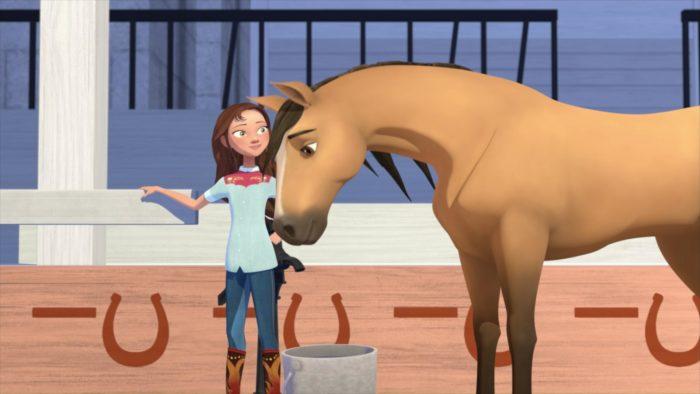 Spirit - Cavalgando Livre - Academia de Equitação - Parte 2