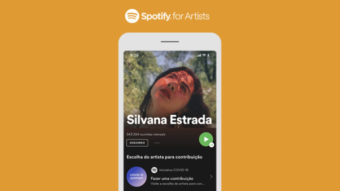 Spotify leva recurso para apoiar artistas ao Brasil