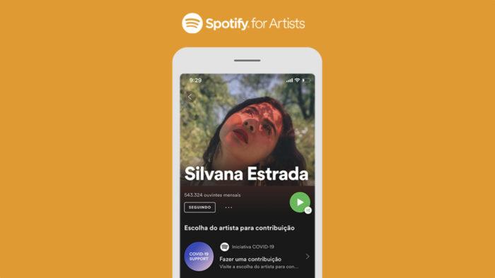 Spotify anuncia recurso para apoiar artistas ao Brasil (Foto: Divulgação/Spotify)