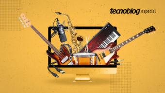 Guitarras, microfones e home studio; a tecnologia dos instrumentos musicais