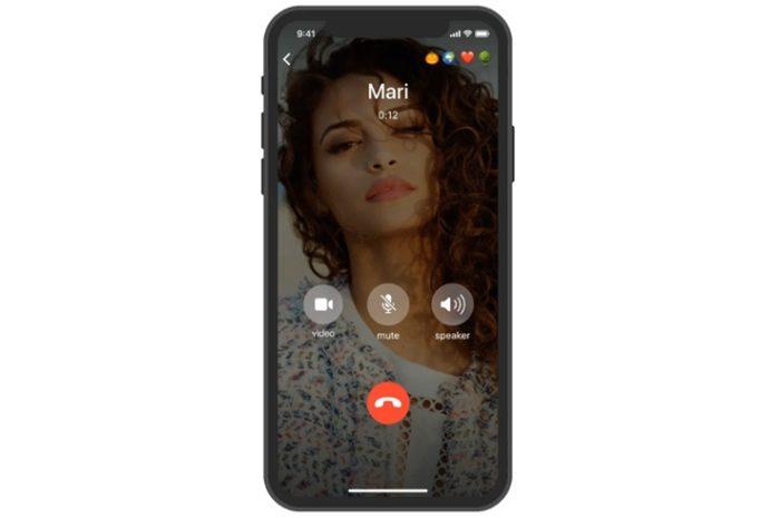 Telegram - chamada de vídeo