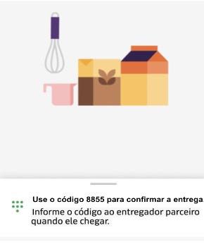 Uber Eats e código PIN