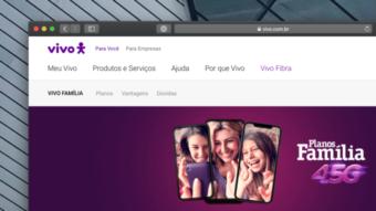 Vivo aumenta franquia de internet no pós-pago Vivo Família