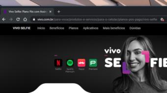 Vivo Selfie lança novo plano com assinatura do Premiere Play