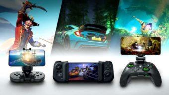 Microsoft revela acessórios Xbox de celular para o xCloud