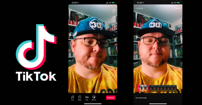 Como cortar vídeos no TikTok [transições] / Reprodução / Felipe Vinha