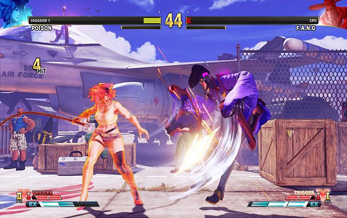 3 Truques com Poison em Street Fighter V