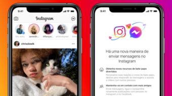 Instagram ganha recursos na DM e integração com Messenger no Brasil